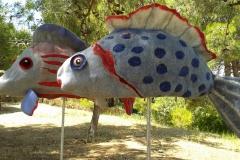 Sawatou fische fish felt art